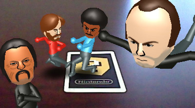 3DS Action Hero Miis